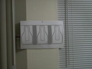 Triple QIT on wall