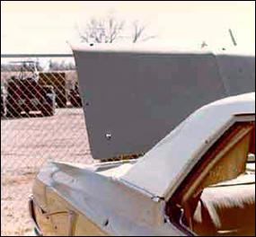 Agent Coler's car trunk