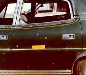 Agent Williams' car