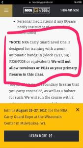 carry guard training limitations pic
