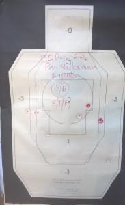 Pro-Marksman tac rifle 100 yard