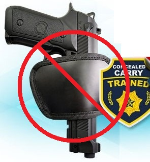 POS holster NO
