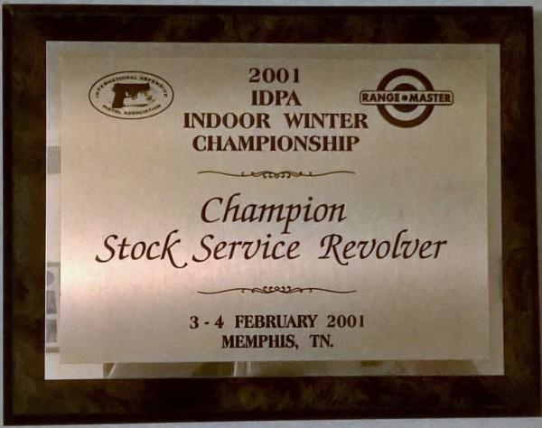 RM 2001 trophy crop