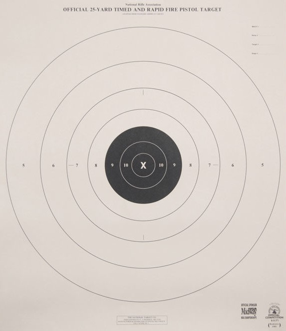 picture about Nra B-8 Target Printable identify dryfire tacticalprofessor