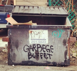 garbage buffet dumpster crop