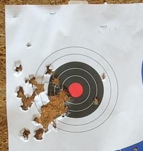 Goober target bullseye