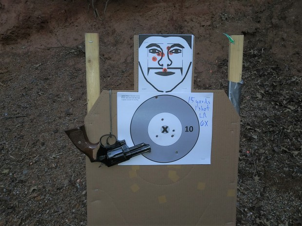 Taurus 82 15 yards